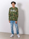 Young and Reckless Mens - Tops - Long Sleeve - OG Reckless Long Sleeve - Camo