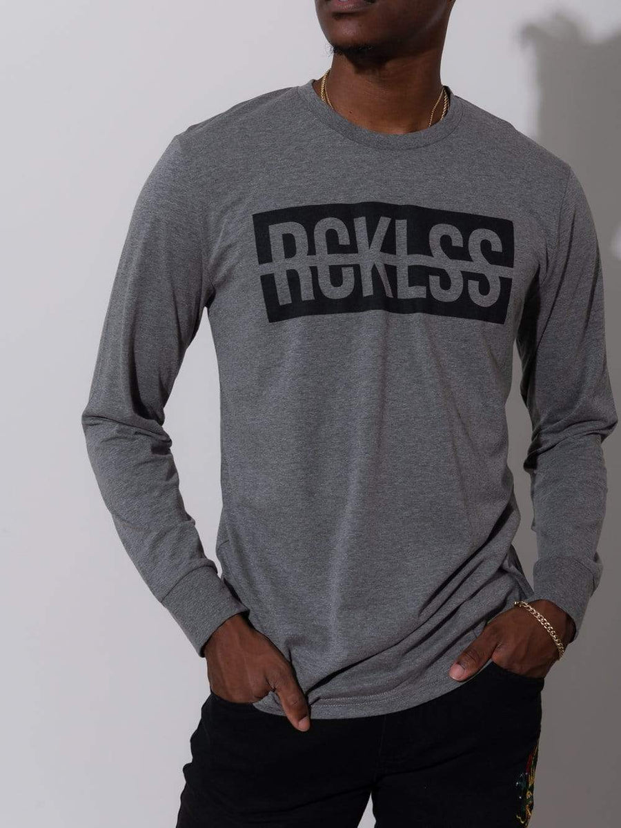 Strike Box Long Sleeve - Grey