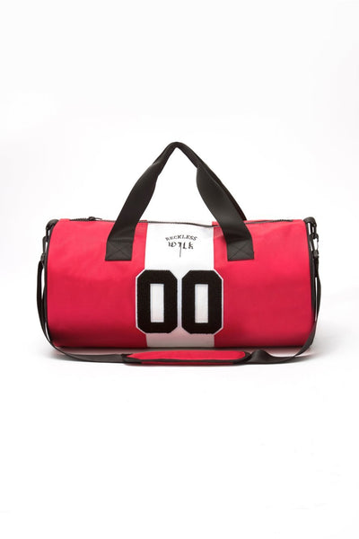 Young and Reckless WILK x RECKLESS Sammy Wilk x Reckless Duffle Bag - Black/Red