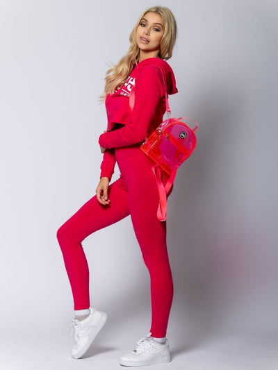 Young and Reckless Womens - Accessories - Bags / Packs Sapporo Backpack - Hot Pink OS / HOT PINK