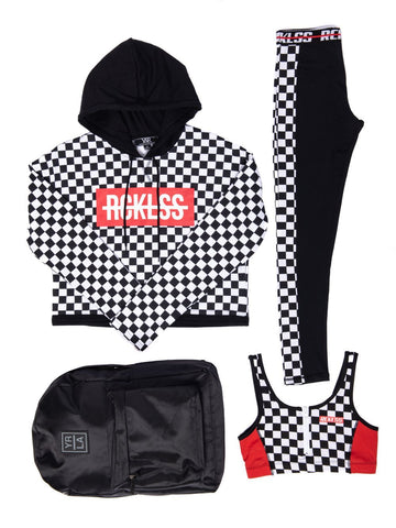 Young and Reckless Womens - Bundles Checkered Bundle - Multi