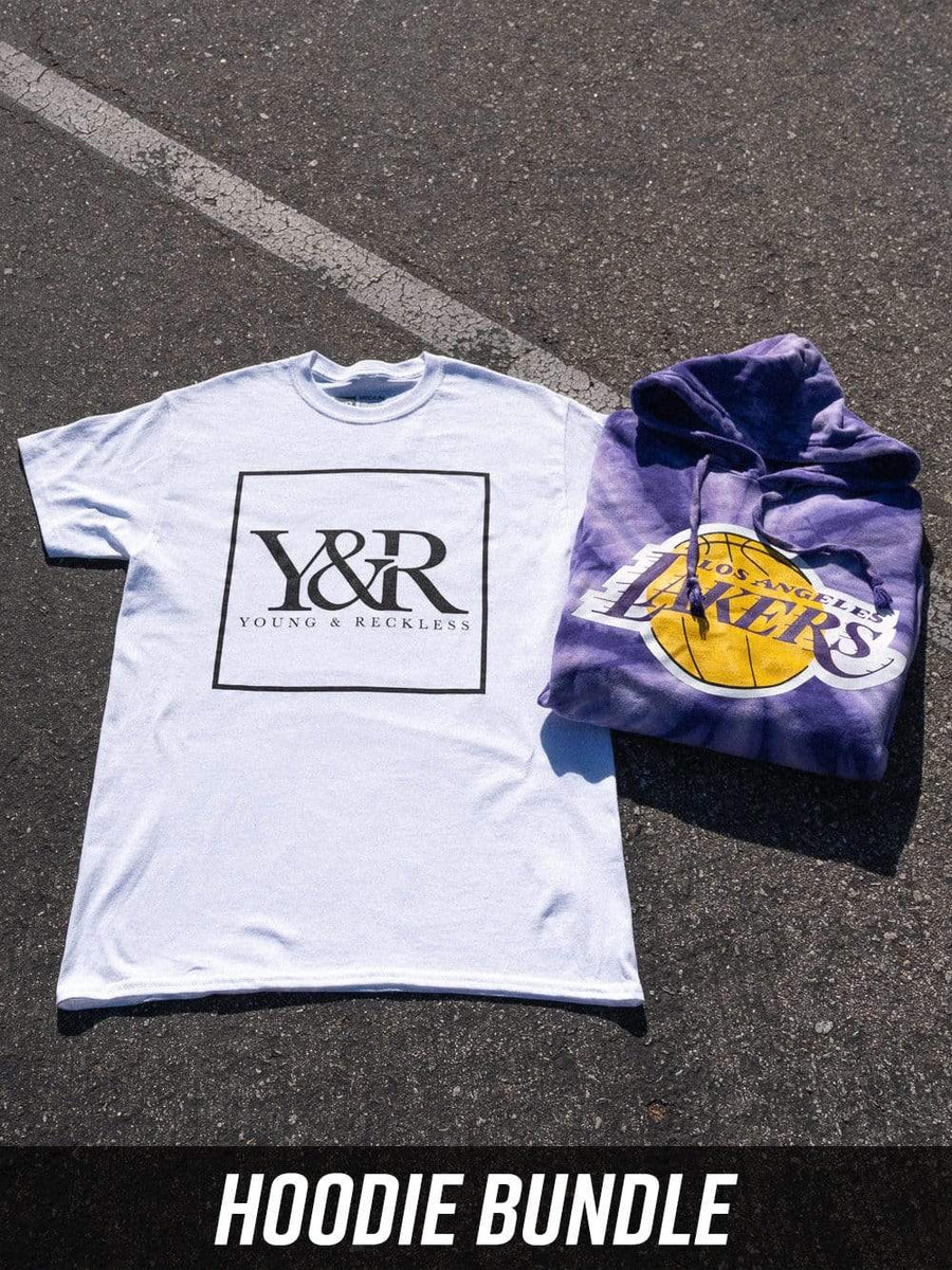 Young and Reckless Womens - Bundles Lakers Full Court Bundle - Tie Dye