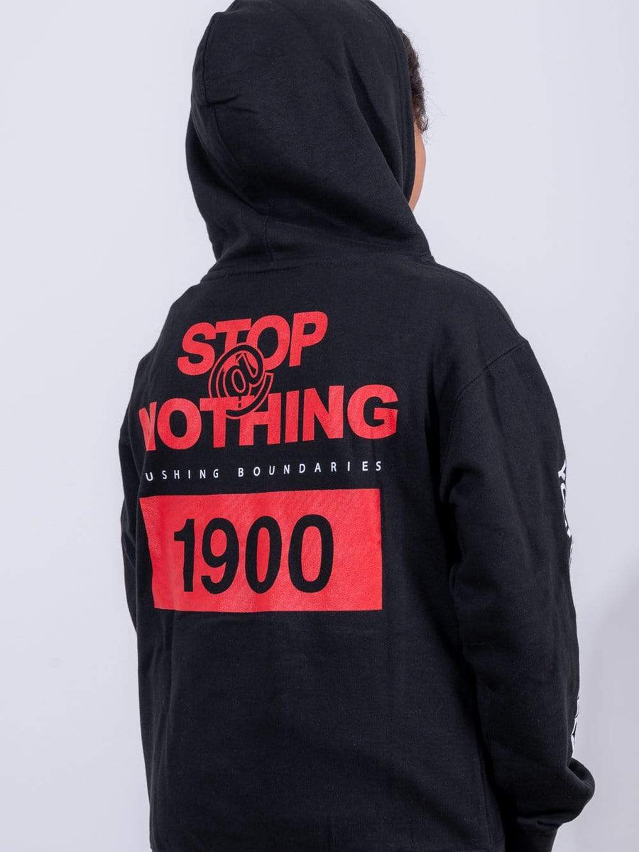 Young and Reckless Youth Fast Track Youth Hoodie - Black