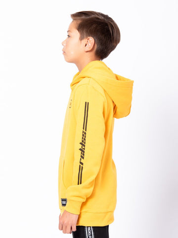 Youth Racer Hoodie - Gold