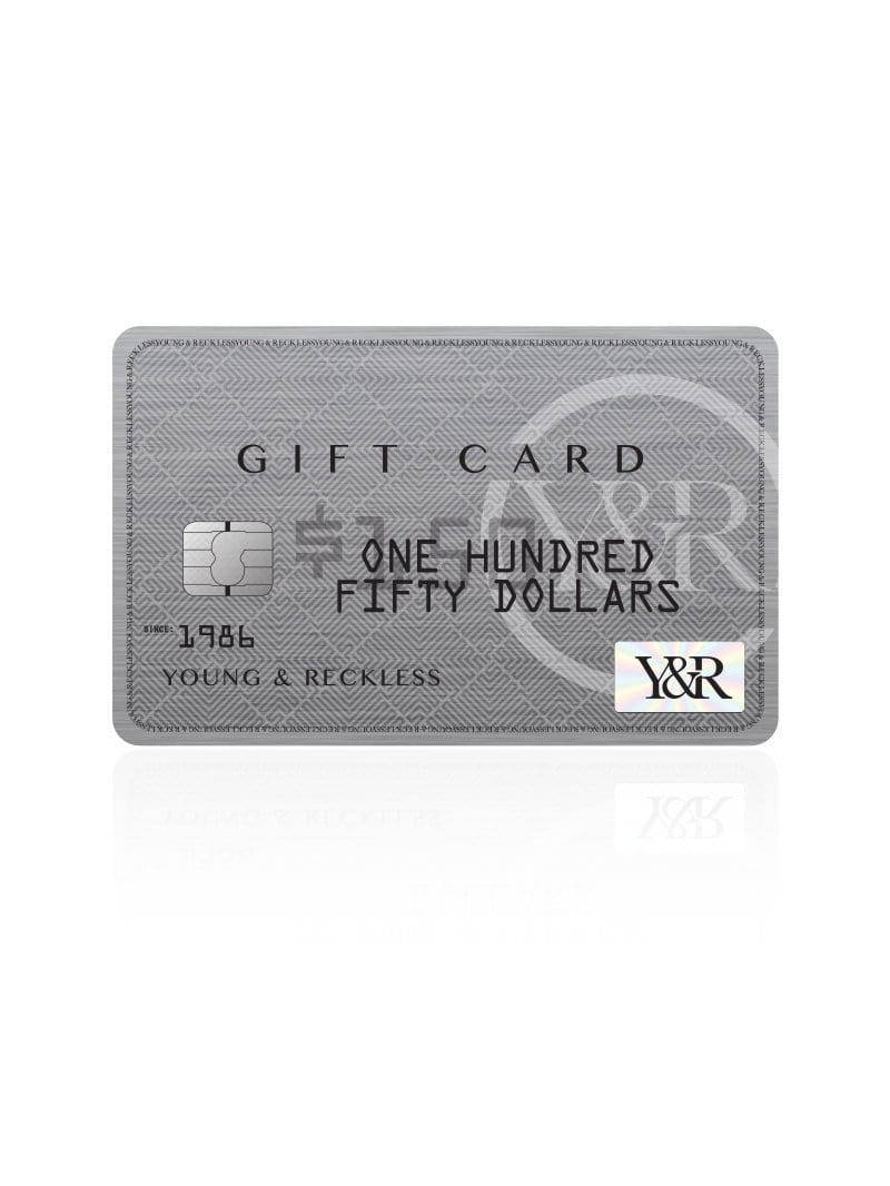 Y&R Gift Card - Platinum Card
