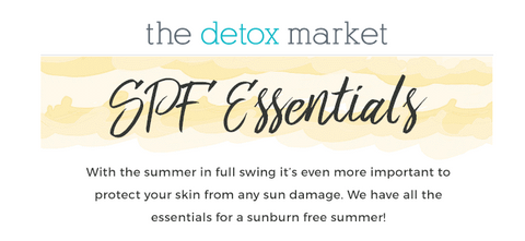 the detox market sun screens SPF