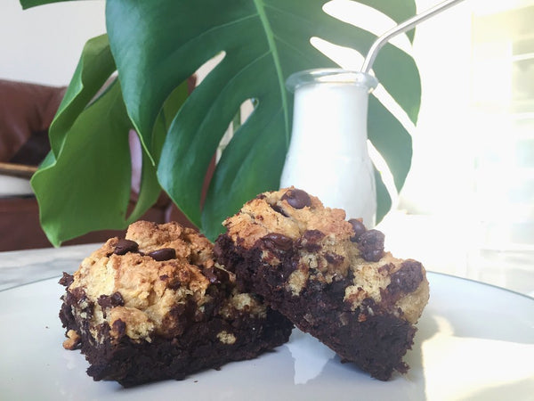 cookie brownie recipe