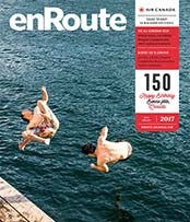 enroute magazine cover july 2017