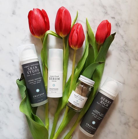 spring skincare products