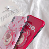 DDLGVERSE Lotso iPhone Case Side View
