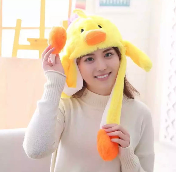 DDLGVERSE Plush Chick Hat
