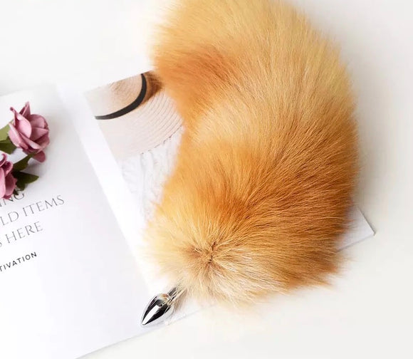 Large Fluffy Fox Tail