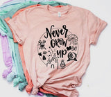 Never Grow Up T-Shirt