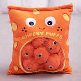 Bag of Cheesy Puff Plushies