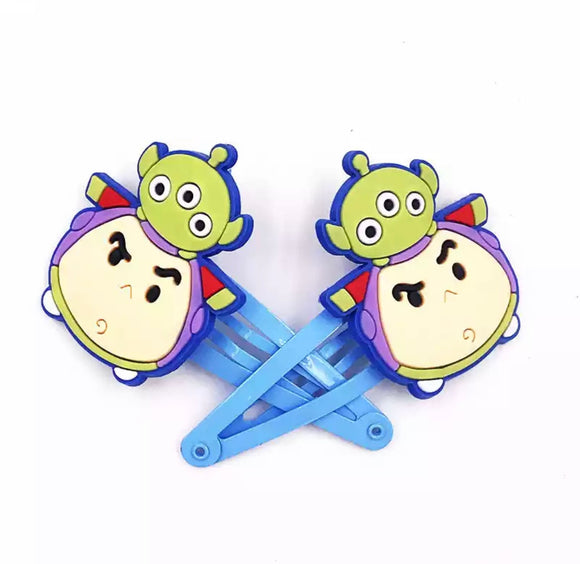 DDLGVERSE Buzz and Alien Hair Clips