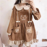 Victorian Style Kawaii Kitten Dress
