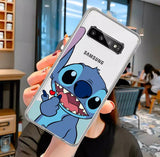 DDLGVERSE Disney Clear Samsung Case Stitch