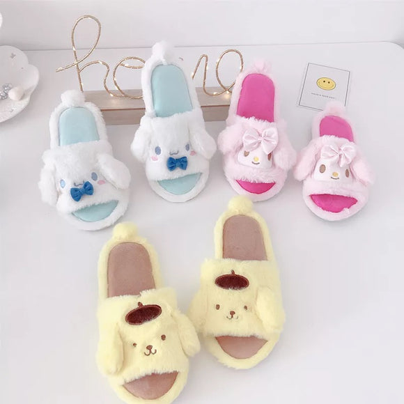 Kawaii Character Slider Slippers