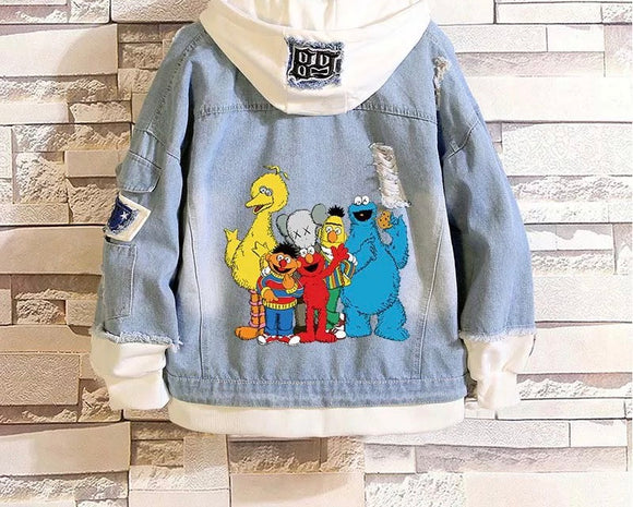 Sesame Street Denim Jacket