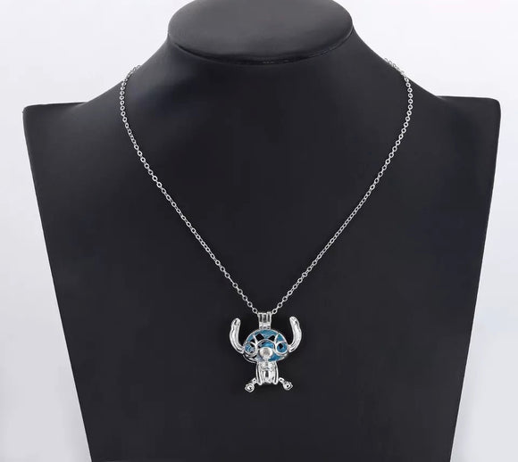 Stitch Jewelled Necklace