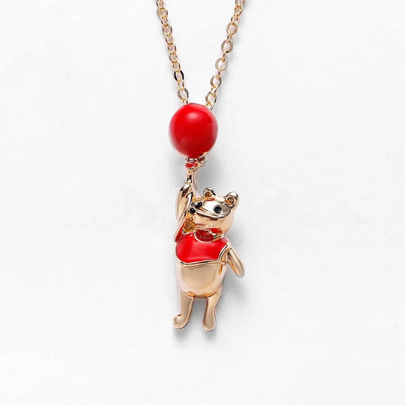 Winnie the Pooh Gold Necklace
