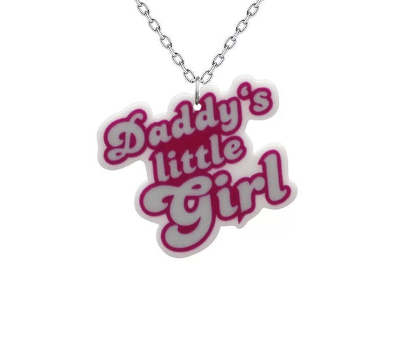 DDLGVERSE Daddy's Little Girl Necklace