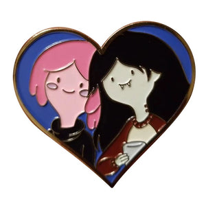 Bubblegum and Marceline Pin