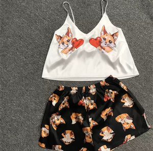 Kitty Love PJ Set