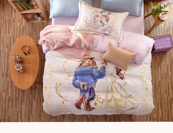 Luxury Beauty & Beast Bedding Set