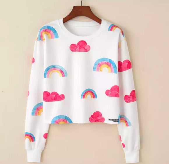 Rainbows & Clouds Sweater