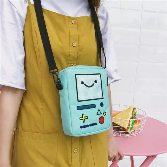DDLGVERSE Kawaii BMO Shoulder Bag on Model