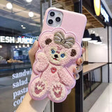 DDLGVERSE Bun Bun and Bear iPhone Cases ShellieMay