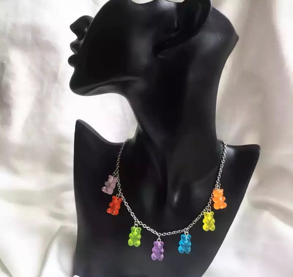 DDLGVERSE Gummy Bear Necklace