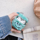 DDLGVERSE Fluffy Character AirPods Cases Sully