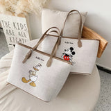 DDLGVERSE Duck & Mouse Tote Bags