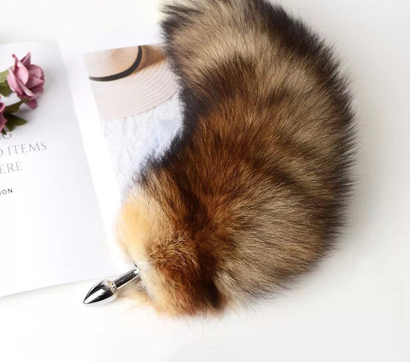 Large Fluffy Wolf Tail Plug
