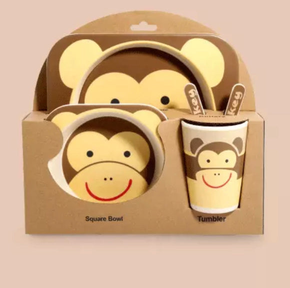 Monkey 5pcs Dining Set
