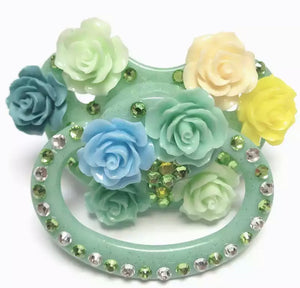 Floral Adult Pacifier