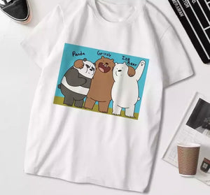 We Bare Bears Friends T-Shirt