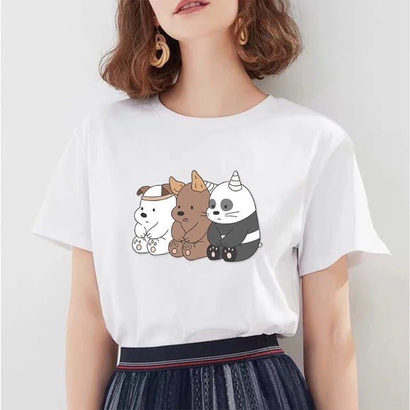 DDLGVERSE We Bare Bears Dress Up Top