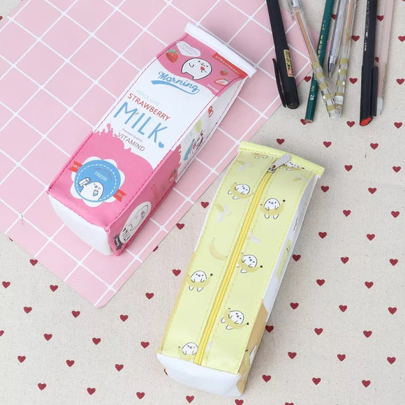 Milk Carton Pencil Cases