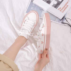 Lovely Heart Sneakers