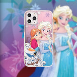 DDLGVERSE Frozen iPhone Case Pink