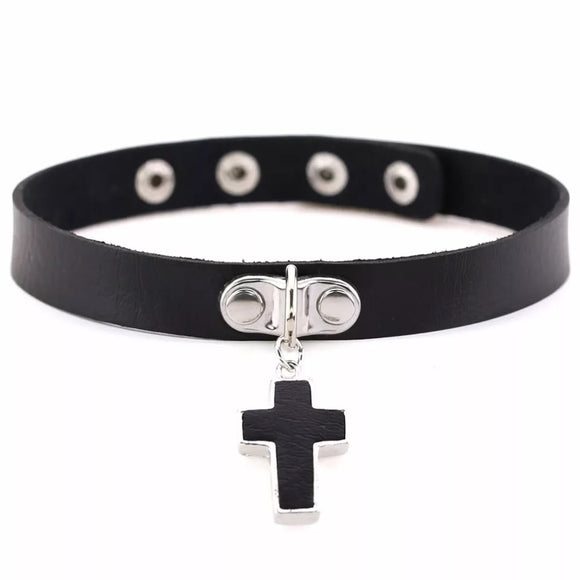 DDLGVERSE Holy Sinner Collar Black