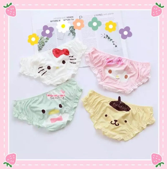My Melody & Cartoon Panties