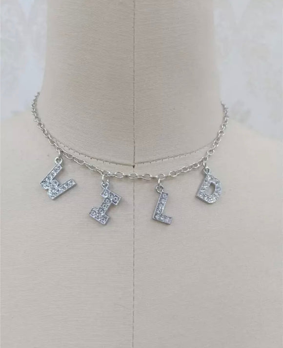 DDLGVERSE Wild Silver Plated Necklace