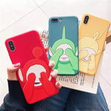 DDLGVERSE Teletubbies iPhone Cases