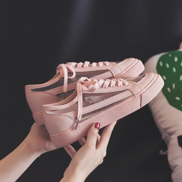 Pastel Transparent Sneakers