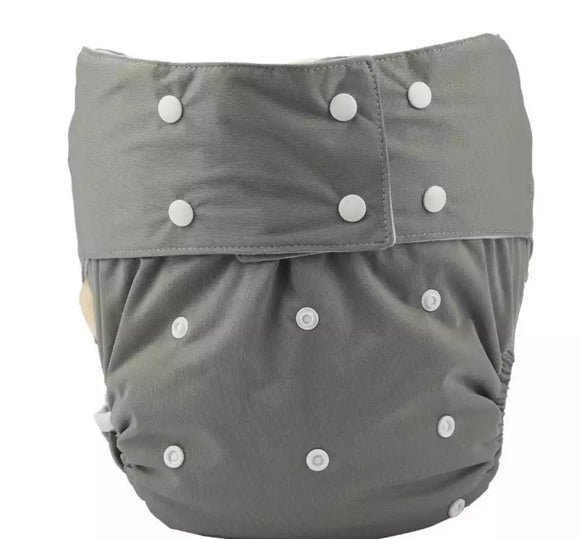 Grey Adult Diaper
