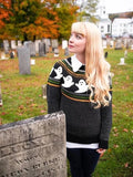 Knitted Ghost Sweater